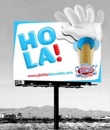 billboard dondé mano